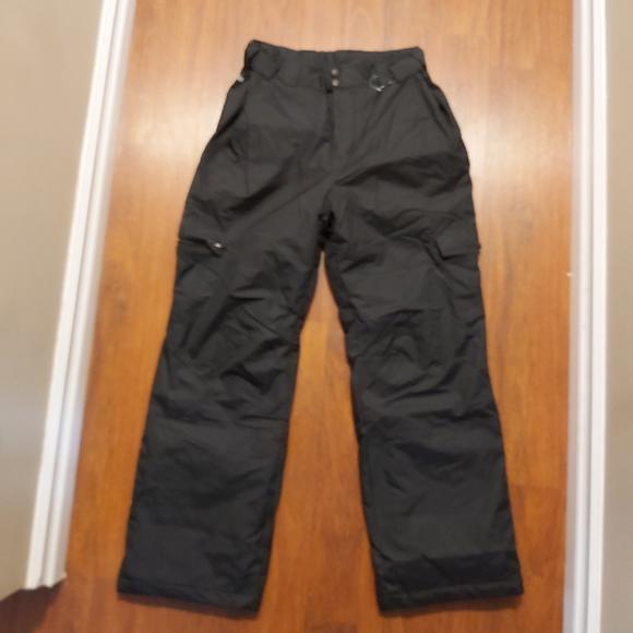 NWOT Columbia mens black snow pants size medium